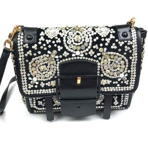 Tory Burch Sawyer Embellished Satchel